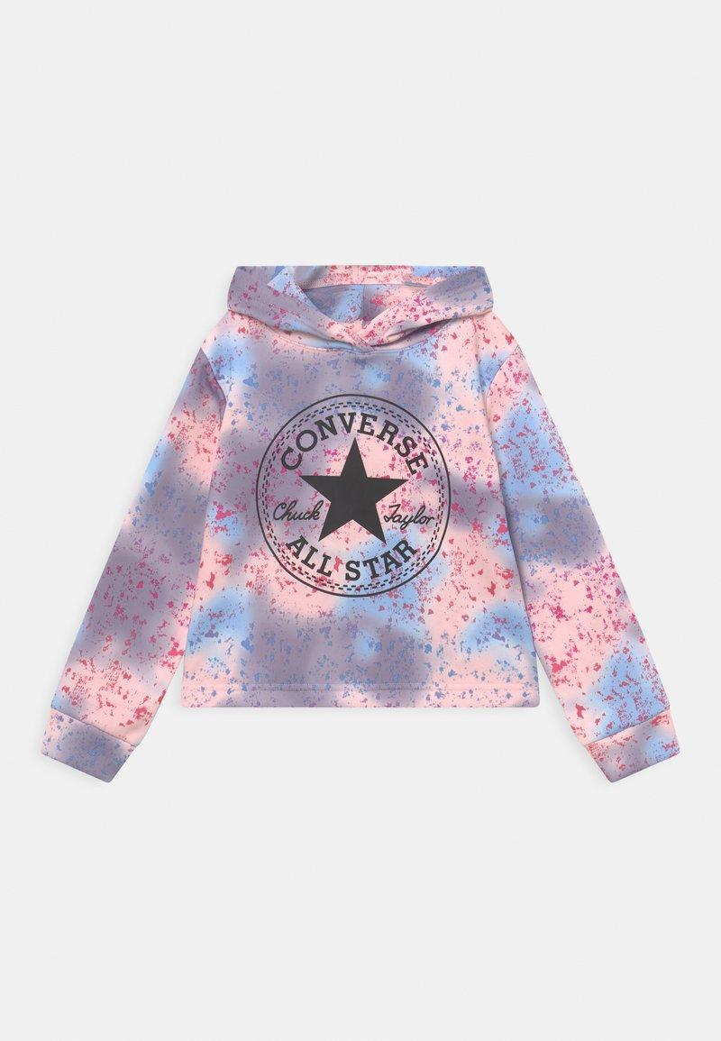 Converse - CROPPED HOODIE - Kapuzenpullover - storm pink