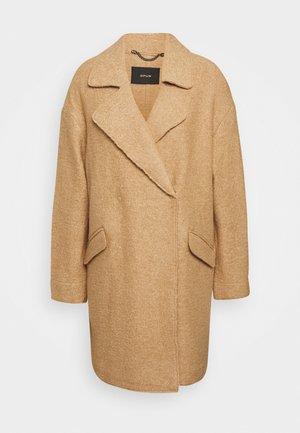 HALBA - Classic coat - creamy camel