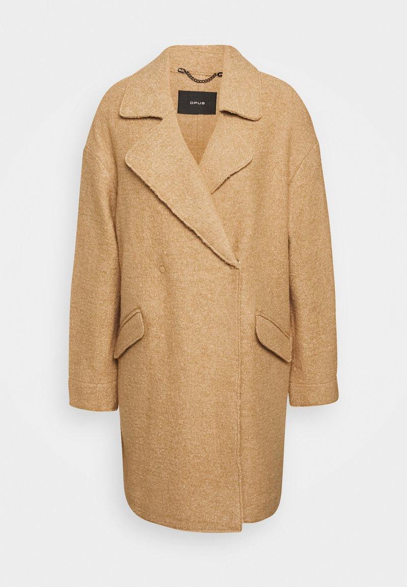 Opus - HALBA - Classic coat - creamy camel