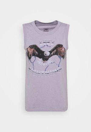 MUSCLE TEE - Top - lavender dusk