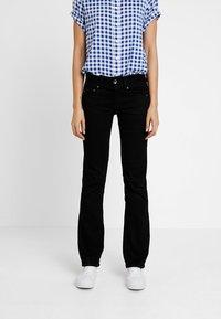 G-Star - MIDGE MID BOOTCUT   - Bootcut jeans - pitch black - 0