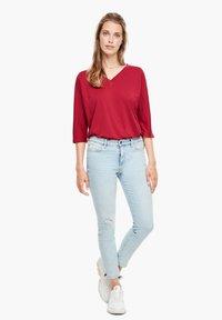 s.Oliver - Long sleeved top - dark red - 1