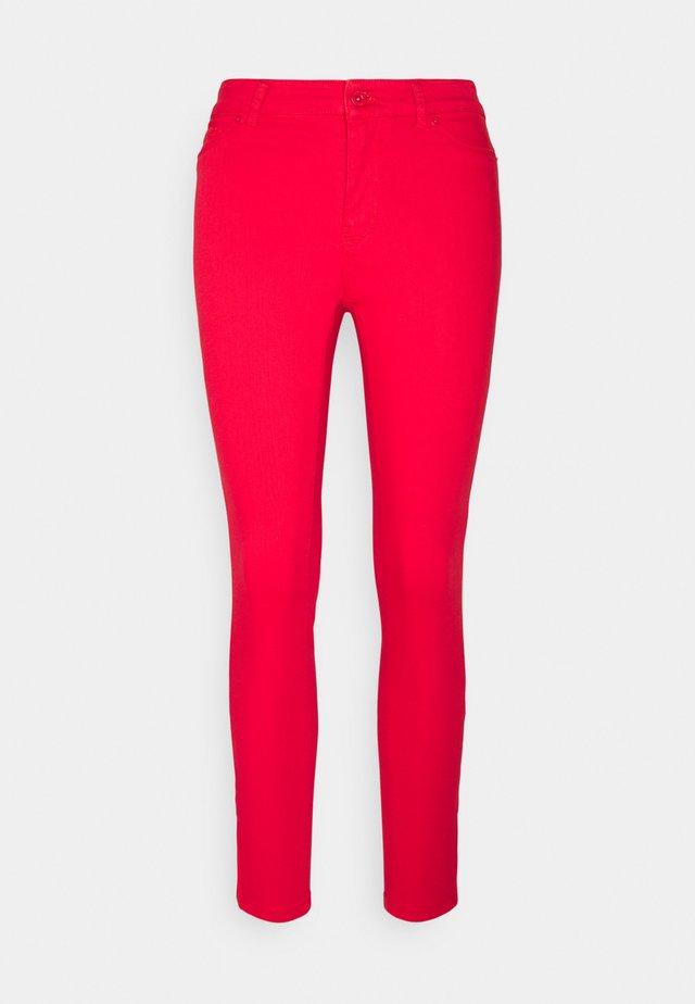 Vaqueros Rojos De Mujer Jeans En Zalando