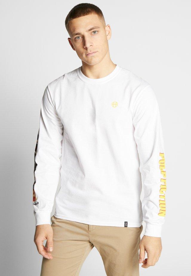 PULP FICTION COLLAGE  - Bluzka z długim rękawem - white