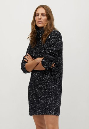 PEPPER - Jumper dress - black