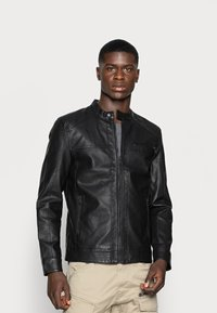 Only & Sons - ONSAL  - Faux leather jacket - black - 0
