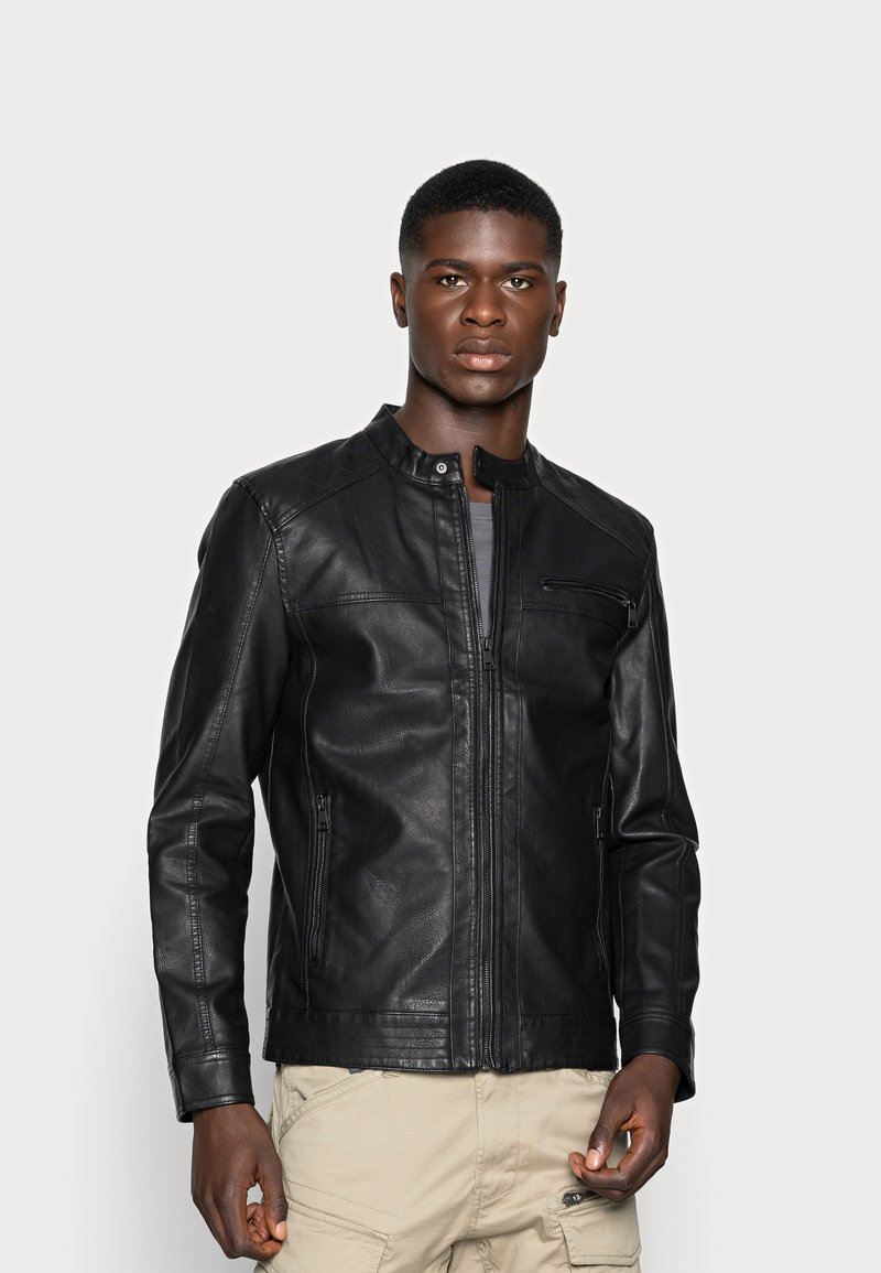 Only & Sons - ONSAL  - Faux leather jacket - black