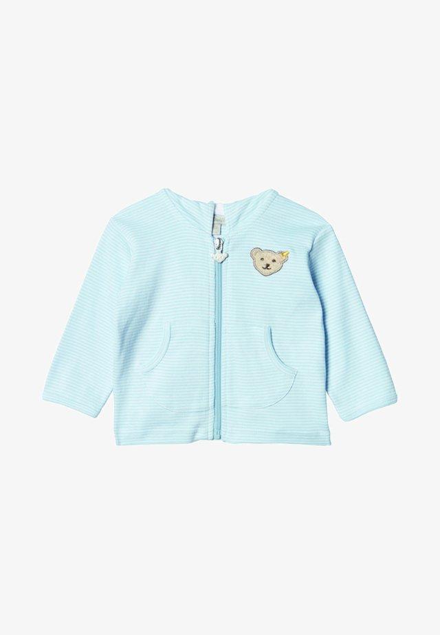 veste en sweat zippée - blue