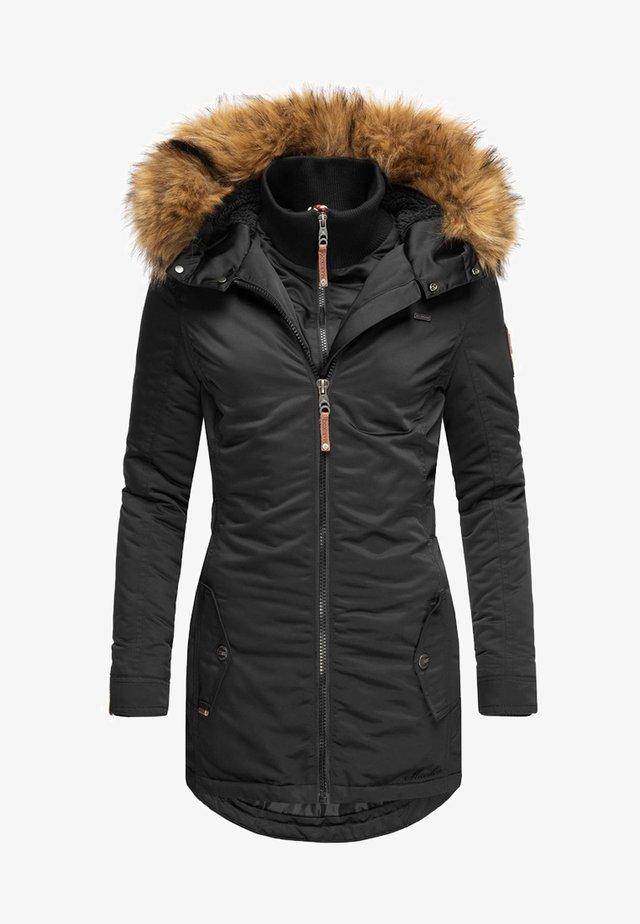 SANAKOO - Abrigo de invierno - black