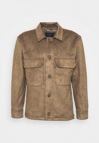 OVERSHIRT - Summer jacket - brown