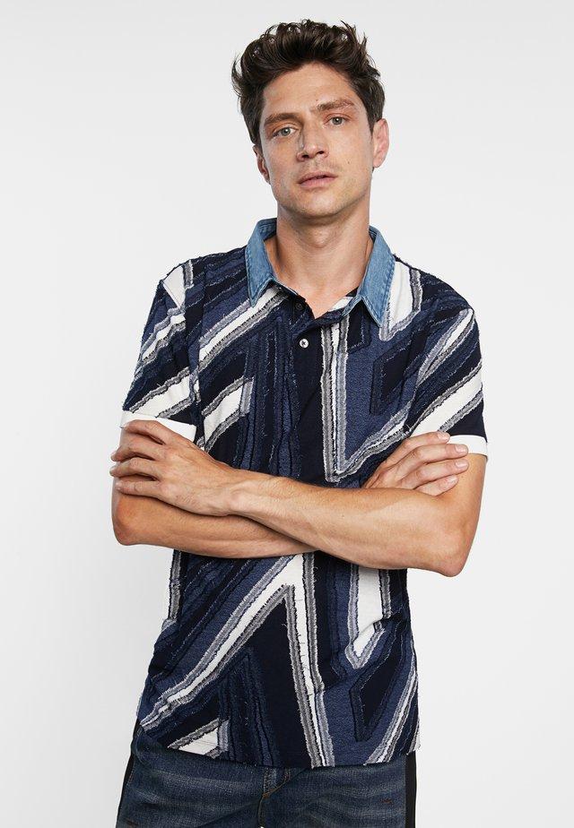 VICENT - Poloshirt - blue