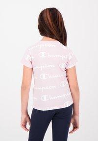 Champion - Print T-shirt - pink - 1