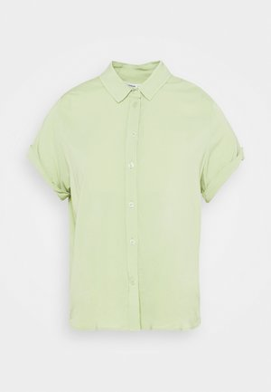 MAJAN - Button-down blouse - tarragon