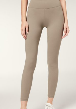 Leggings - Trousers - dove grey