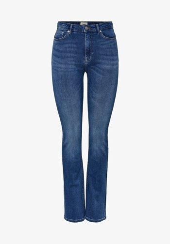 Flared jeans - medium blue denim