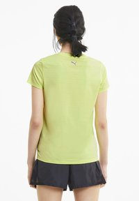 Puma - SHORT SLEEVE - T-Shirt print - fizzy yellow - 2