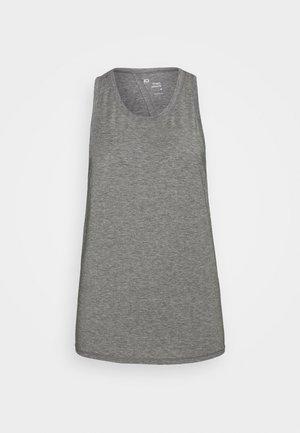 TIE BACK TANK NON HOT - Camiseta de deporte - heather grey
