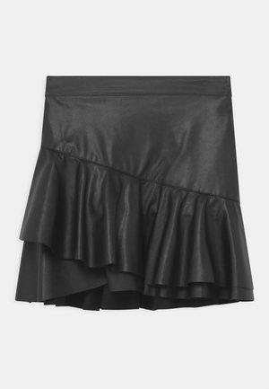 GIRLS - Minifalda - schwarz reactive