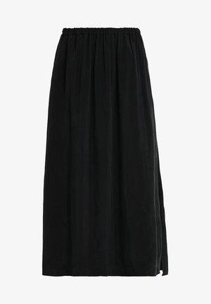 NONO SKIRT - Maxi skirt - carbon