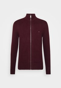 Tommy Hilfiger - CHUNKY ZIP THROUGH - Cardigan - red - 4