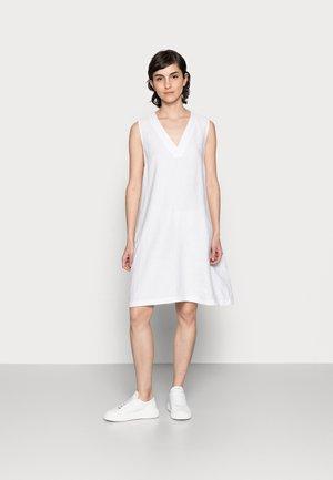 DRESS - Day dress - white linen