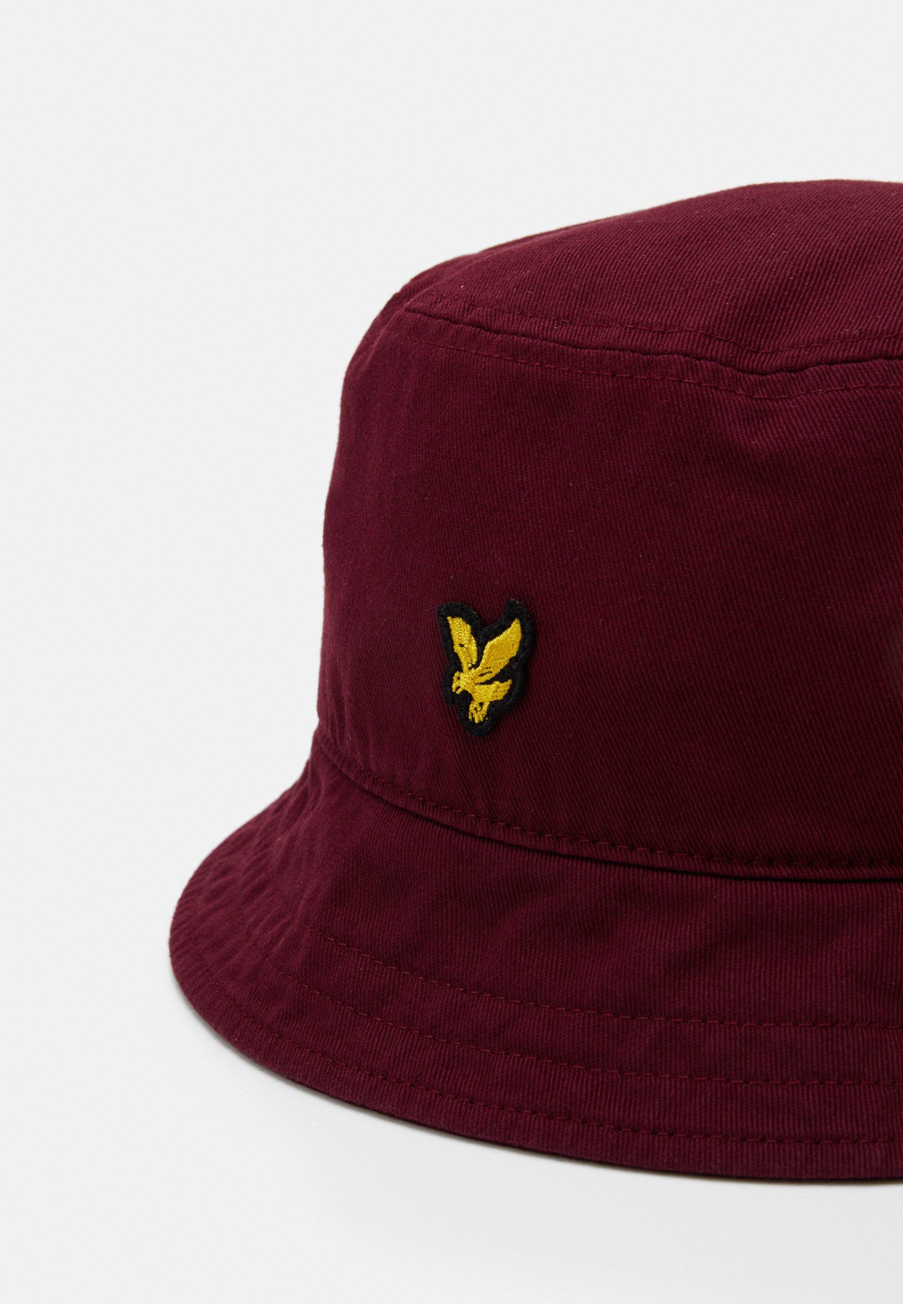 Lyle & Scott BUCKET HAT - Hatt - merlot/mørkerød l0HYpAsy3LQ3yBb