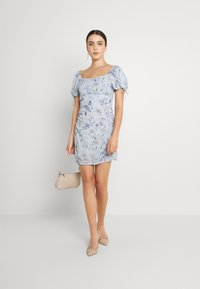 Nly by Nelly - RUCHED PUFF DRESS - Cocktailkjole - multi-coloured - 1