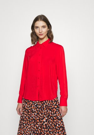 HILMA - Button-down blouse - flamescarlet