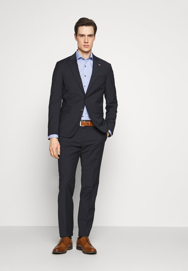 SLIM FIT SUIT - Traje - blue