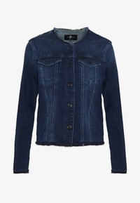7 for all mankind - JACKET - Denim jacket - dark blue - 3