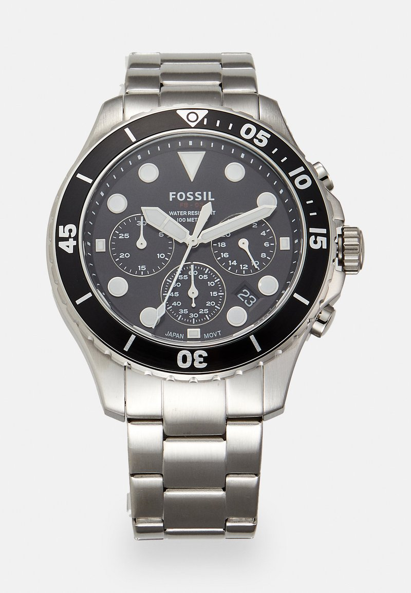 Fossil - Chronograph watch - silver-coloured