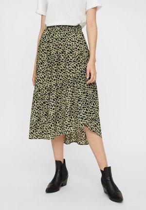 Pleated skirt - jadeite