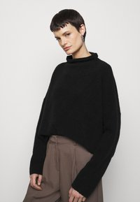 Filippa K - MIKA FUNNEL NECK - Jumper - black - 6