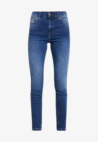 Diesel - D-ROISIN - Jeans Skinny Fit - indigo - 4