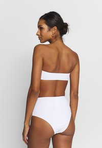 ONLY - ONLNITAN BIKINI BRIEF 2 PACK - Bas de bikini - black/bright white - 2