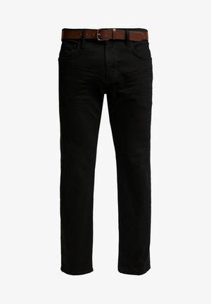 Slim fit -farkut - black rinse