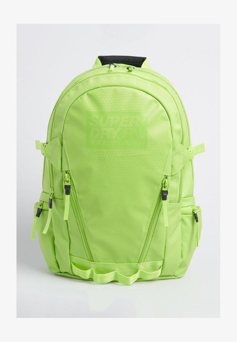 Superdry - COLOUR TARP - Rucksack - lime green