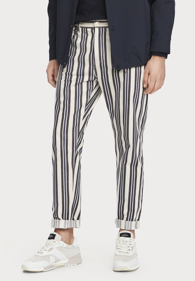 Jeans Straight Leg - stripe out
