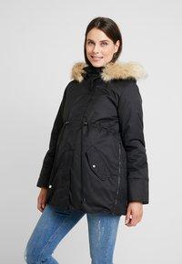 MAMALICIOUS - MLARUNA ZIPPY SIDE PADDED JACKET - Light jacket - black - 0