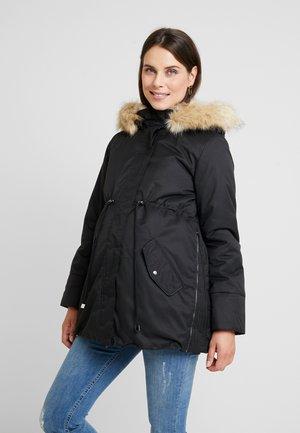 MLARUNA ZIPPY SIDE PADDED JACKET - Light jacket - black