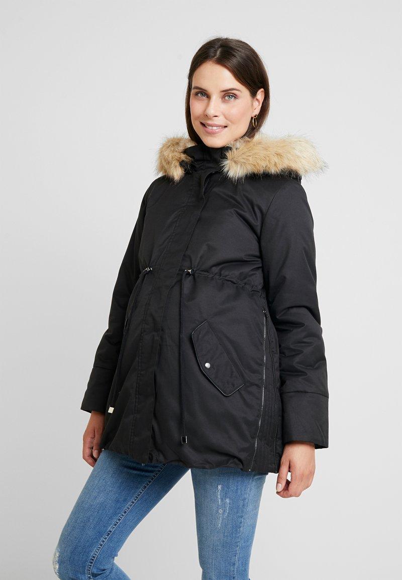 MAMALICIOUS - MLARUNA ZIPPY SIDE PADDED JACKET - Light jacket - black