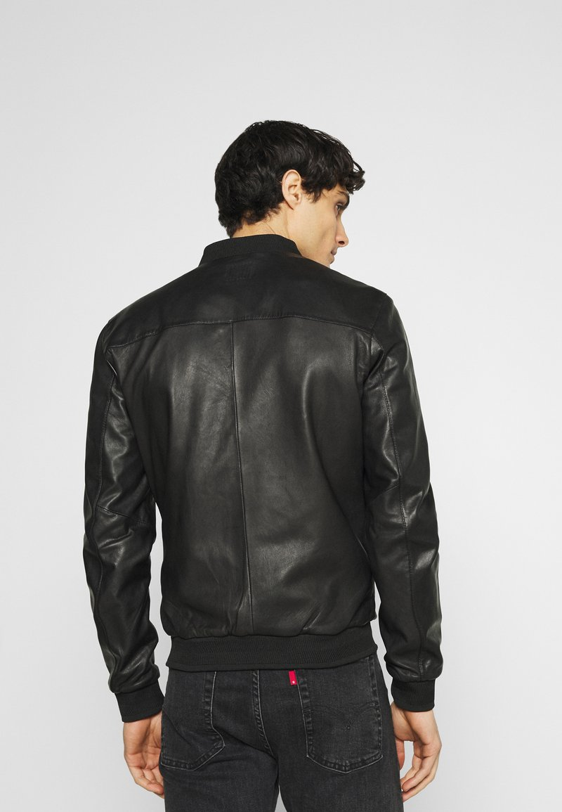 Oakwood - BORN - Leather jacket - black