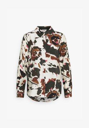 OBJALIKA BAY - Button-down blouse - sandshell