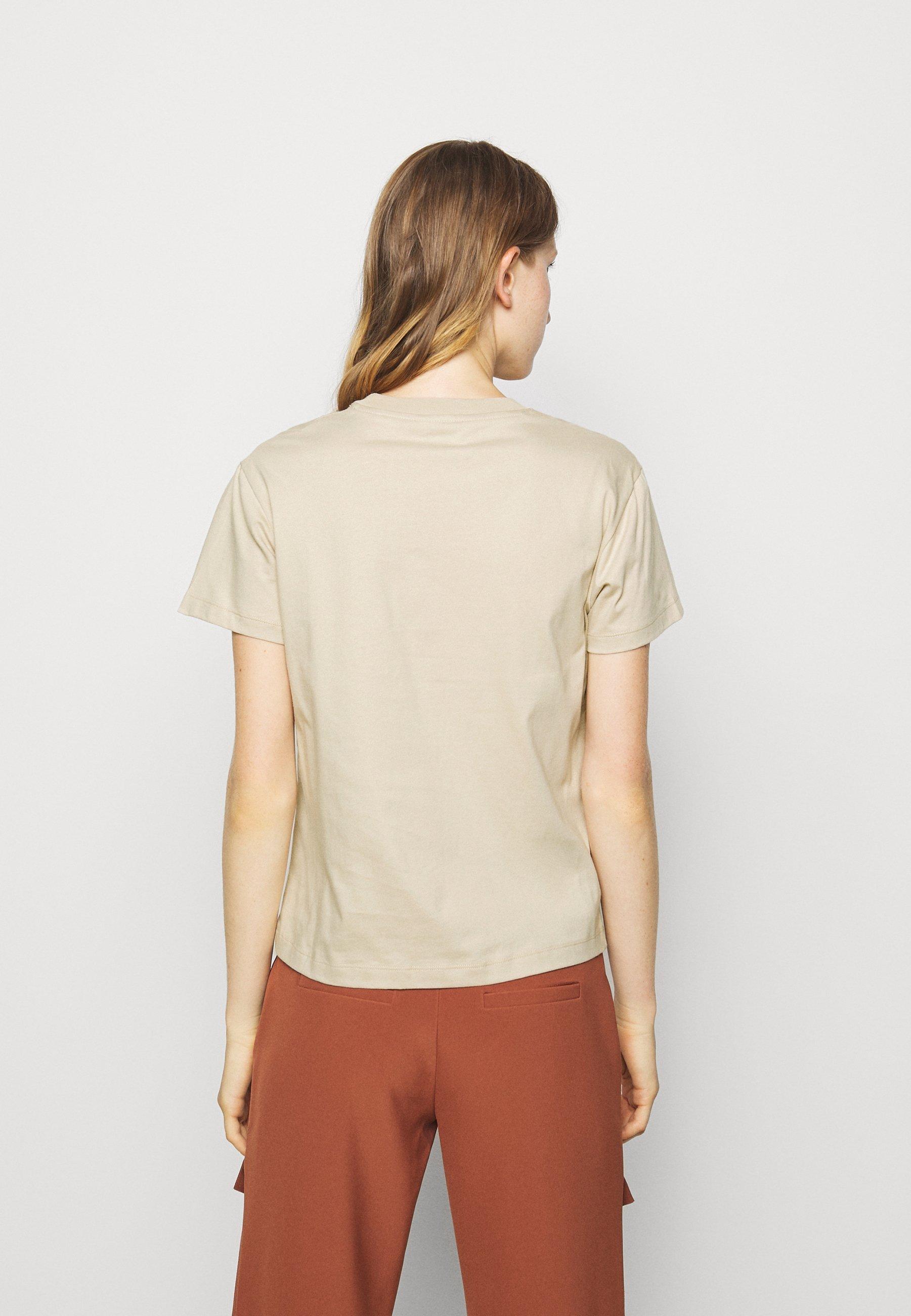 Holzweiler Suzana - T-shirts Med Print Tan/beige