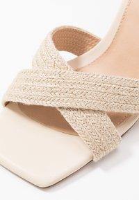 NA-KD - BRAIDED  - Sandals - natural - 2