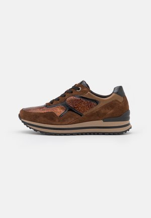 Sneakers laag - moro/whisky/schwarz