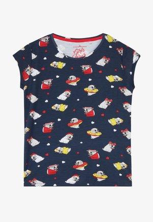TEEN GIRLS  - Print T-shirt - navy