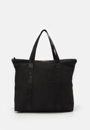 GWENETH BAG - Shopping bag - black