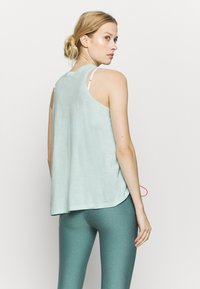 Under Armour - CHARGED TANK - Treningsskjorter - seaglass blue - 2