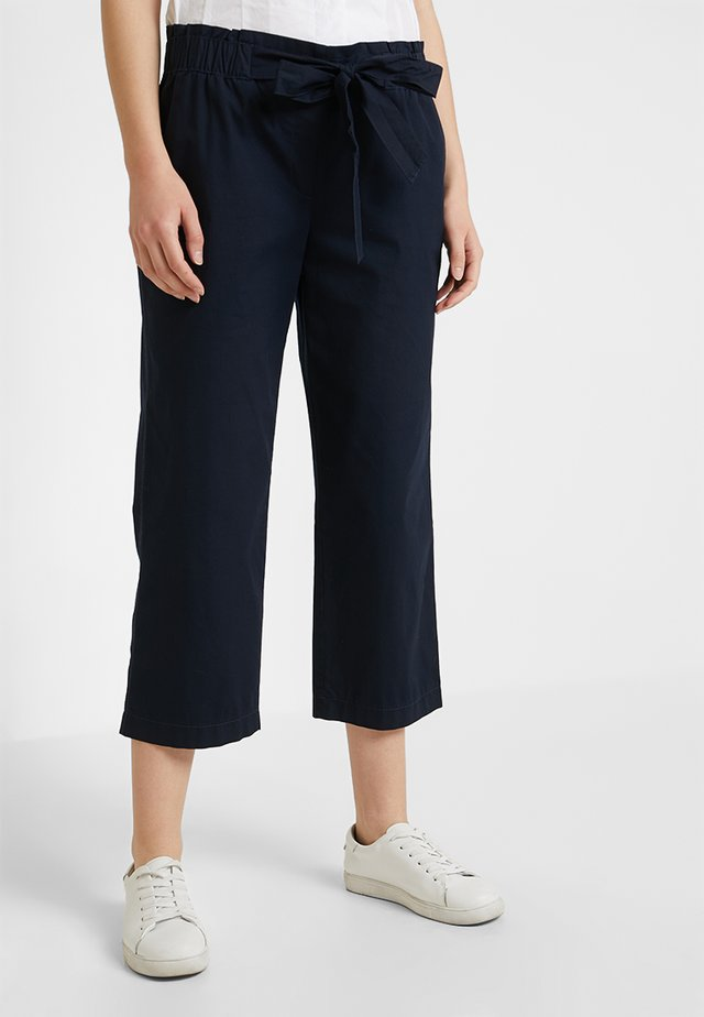 FREIZEIT VERKÜRZT - Trousers - navy blue